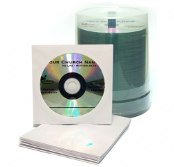 Pre Printed blank CDs in bulk - as low as $0.45<br>(100 per order)